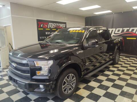 2015 Ford F-150 for sale at T & S Motors in Ardmore TN