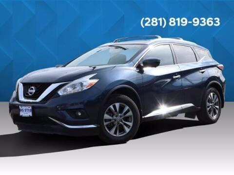2017 Nissan Murano for sale at BIG STAR HYUNDAI in Houston TX