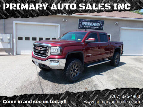 2016 GMC Sierra 1500 for sale at PRIMARY AUTO SALES INC in Sabattus ME