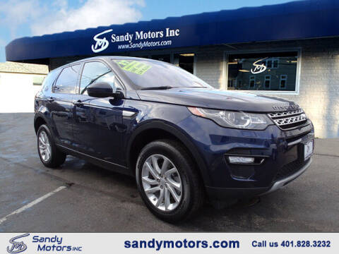 2017 Land Rover Discovery Sport for sale at Sandy Motors Inc in Coventry RI