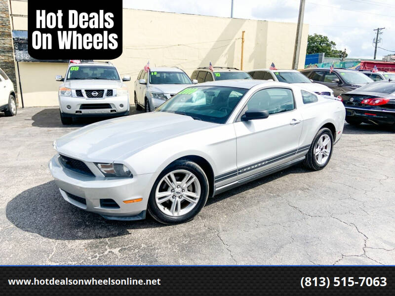 2010 Ford Mustang for sale at Hot Deals On Wheels in Tampa FL