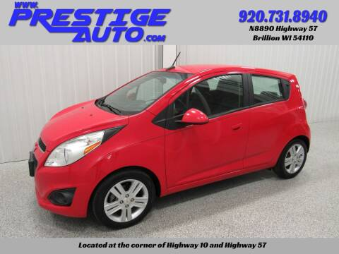 2013 Chevrolet Spark for sale at Prestige Auto Sales in Brillion WI