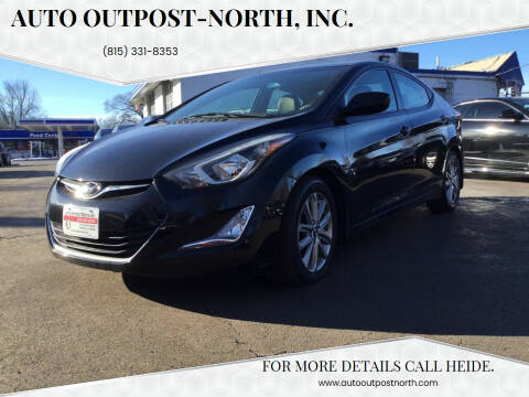 2015 Hyundai Elantra for sale at Auto Outpost-North, Inc. in McHenry IL