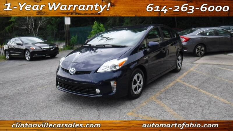 2015 Toyota Prius for sale at Clintonville Car Sales - AutoMart of Ohio in Columbus OH
