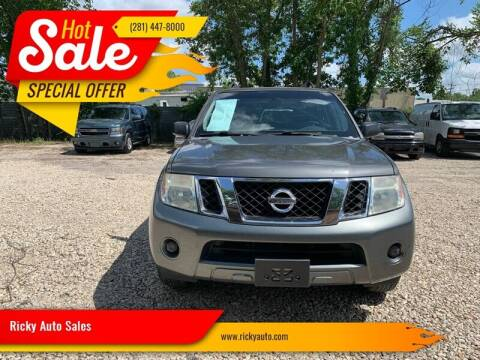 2008 Nissan Pathfinder for sale at Ricky Auto Sales in Houston TX