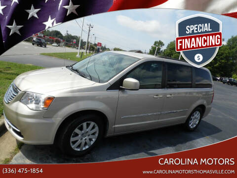 2014 Chrysler Town and Country for sale at CAROLINA MOTORS in Thomasville NC
