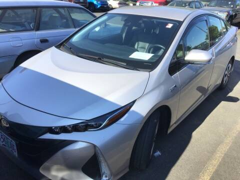 2018 Toyota Prius Prime for sale at Royal Moore Custom Finance in Hillsboro OR