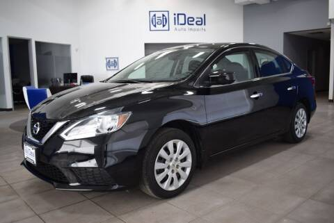 2017 Nissan Sentra for sale at iDeal Auto Imports in Eden Prairie MN