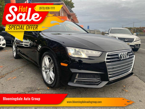 2017 Audi A4 for sale at Bloomingdale Auto Group - The Car House in Butler NJ