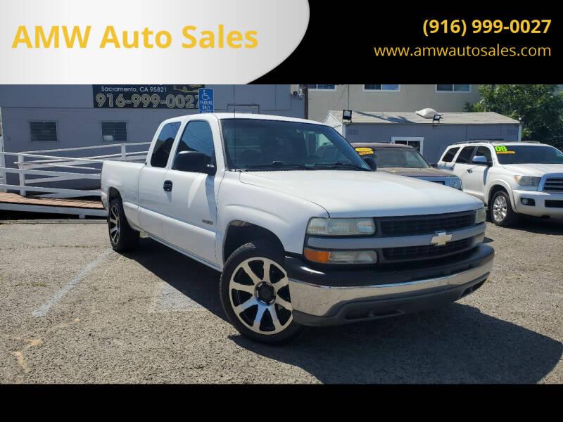 2002 Chevrolet Silverado 1500 for sale at AMW Auto Sales in Sacramento CA