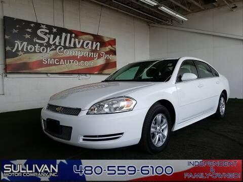 2016 Chevrolet Impala Limited for sale at SULLIVAN MOTOR COMPANY INC. in Mesa AZ
