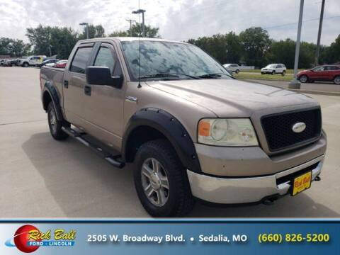 2006 Ford F-150 for sale at RICK BALL FORD in Sedalia MO