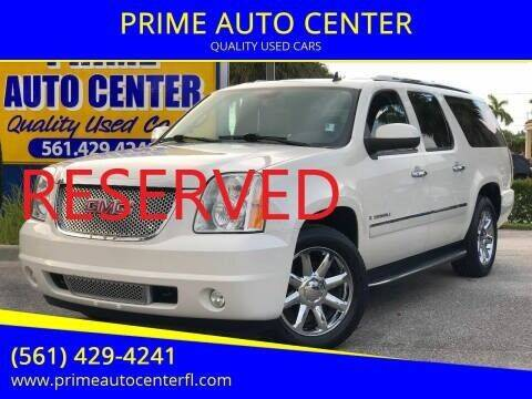 2009 GMC Yukon XL for sale at PRIME AUTO CENTER in Palm Springs FL