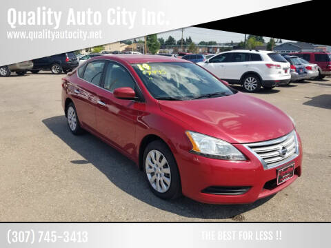 2014 Nissan Sentra for sale at Quality Auto City Inc. in Laramie WY