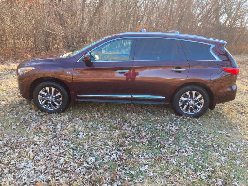 2015 Infiniti QX60 for sale at Rustys Auto Sales - Rusty's Auto Sales in Platte City MO