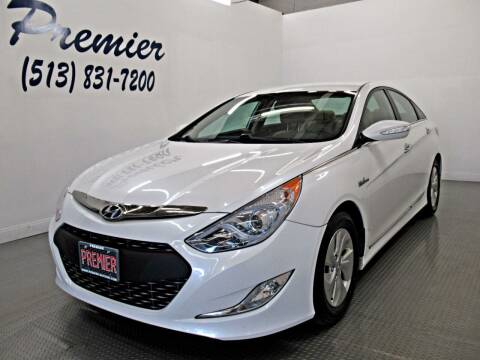 2015 Hyundai Sonata Hybrid for sale at Premier Automotive Group in Milford OH