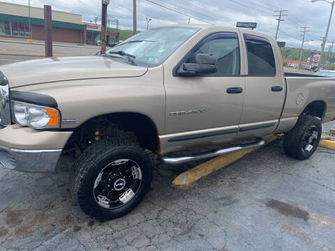 2003 Dodge Ram Pickup 2500 for sale at JORDAN AUTO SALES in Youngstown OH