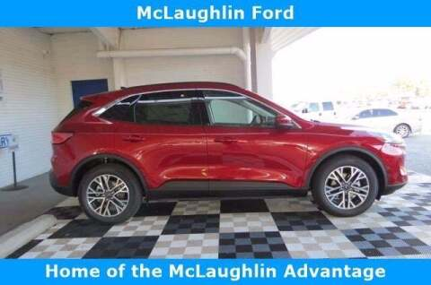 2020 Ford Escape for sale at McLaughlin Ford in Sumter SC