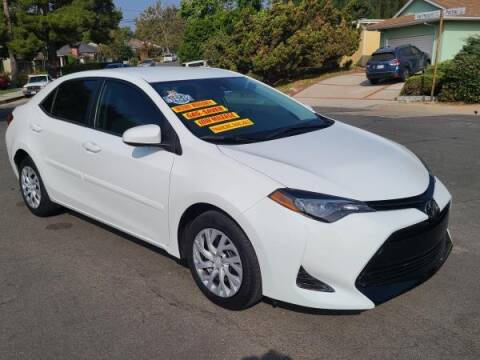 2019 Toyota Corolla for sale at CAR CITY SALES in La Crescenta CA