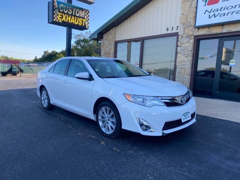 2012 Toyota Camry for sale at Robbie's Auto Sales and Complete Auto Repair in Rolla MO