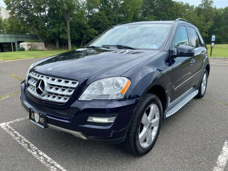 2011 Mercedes-Benz M-Class for sale at Mula Auto Group in Somerville NJ