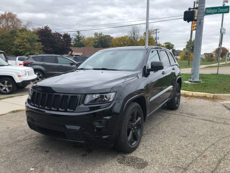 2015 Jeep Grand Cherokee for sale at One Price Auto in Mount Clemens MI