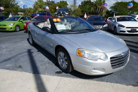 2006 Chrysler Sebring for sale at J Linn Motors in Clearwater FL