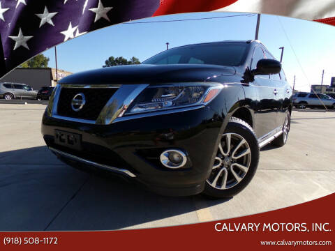 2014 Nissan Pathfinder for sale at Calvary Motors, Inc. in Bixby OK