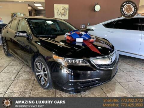 2016 Acura TLX for sale at Amazing Luxury Cars in Snellville GA