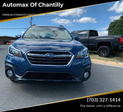 2019 Subaru Outback for sale at Automax of Chantilly in Chantilly VA