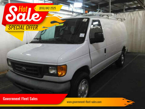 2007 Ford E-Series Cargo for sale at Government Fleet Sales in Kansas City MO