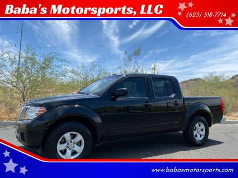 2013 Nissan Frontier for sale at Baba's Motorsports, LLC in Phoenix AZ