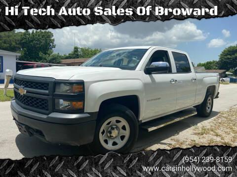 2014 Chevrolet Silverado 1500 for sale at Hi Tech Auto Sales Of Broward in Hollywood FL