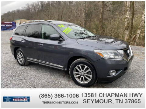 2013 Nissan Pathfinder for sale at Union Motors in Seymour TN