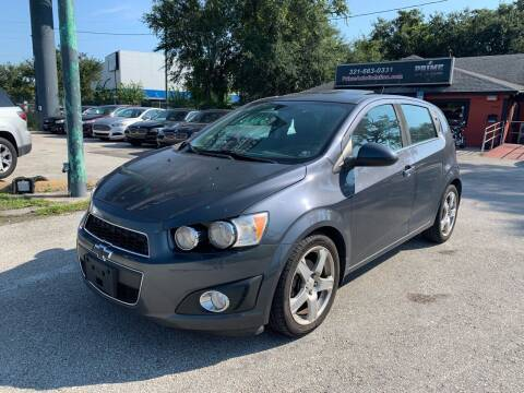 2012 Chevrolet Sonic for sale at Prime Auto Solutions in Orlando FL