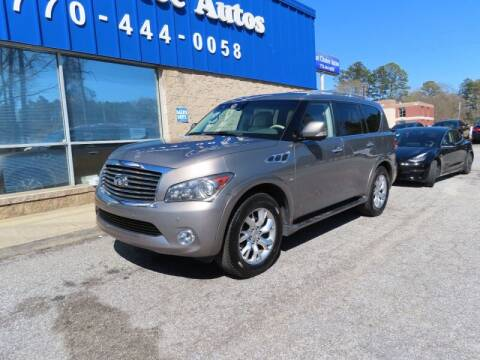 2014 Infiniti QX80 for sale at 1st Choice Autos in Smyrna GA