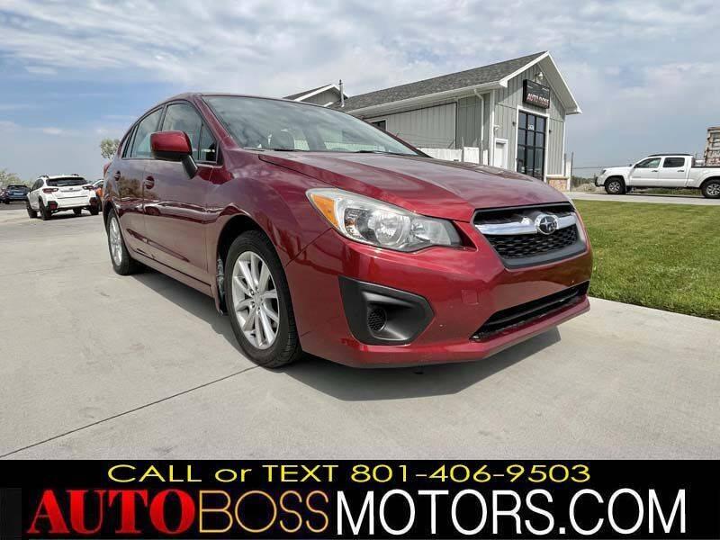 2013 Subaru Impreza for sale at Auto Boss in Woods Cross UT