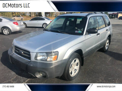 2004 Subaru Forester for sale at DCMotors LLC in Mount Joy PA