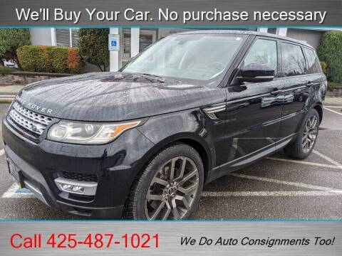 2014 Land Rover Range Rover Sport for sale at Platinum Autos in Woodinville WA