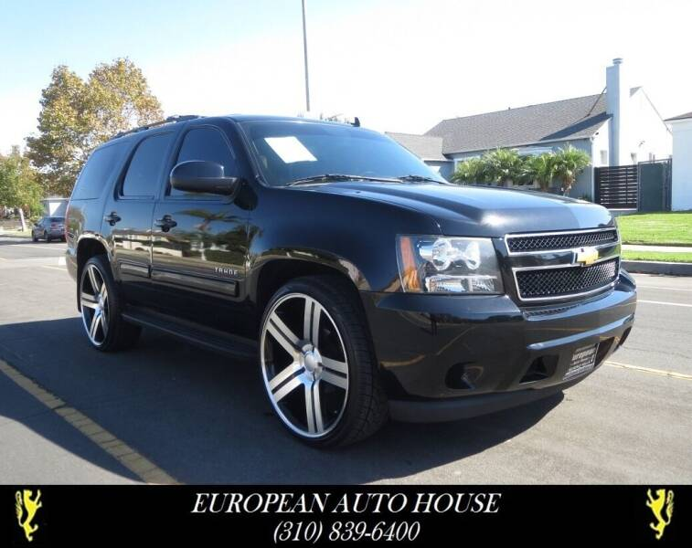 2013 Chevrolet Tahoe for sale at European Auto House in Los Angeles CA