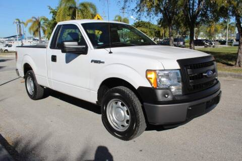 2014 Ford F-150 for sale at Truck and Van Outlet - All Inventory in Hollywood FL