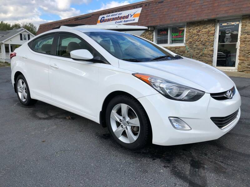 2013 Hyundai Elantra for sale at Approved Motors in Dillonvale OH