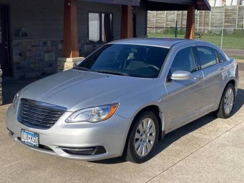 2012 Chrysler 200 for sale at Affordable Auto Sales in Cambridge MN