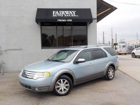 2008 Ford Taurus X for sale at FAIRWAY AUTO SALES, INC. in Melrose Park IL