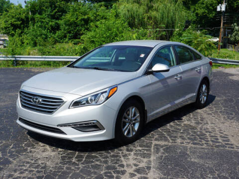 2015 Hyundai Sonata for sale at Tom Roush Budget Westfield in Westfield IN