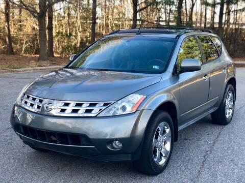 2005 Nissan Murano for sale at Supreme Auto Sales in Chesapeake VA