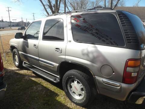 2001 GMC Yukon for sale at Spartan Auto Sales in Beaumont TX