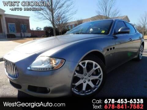 2009 Maserati Quattroporte for sale at West Georgia Auto Brokers in Douglasville GA