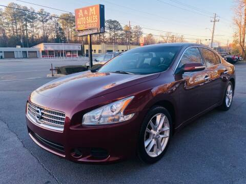 2010 Nissan Maxima for sale at A & M Auto Sales, Inc in Alabaster AL