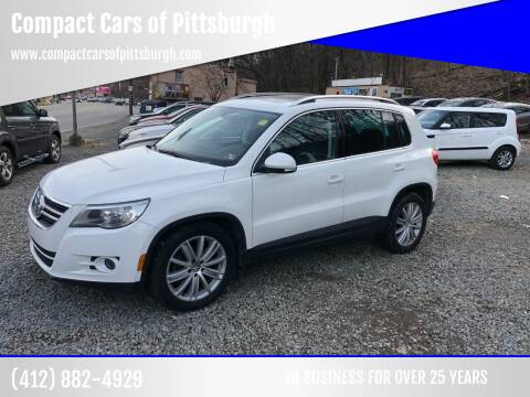 2011 Volkswagen Tiguan for sale at Compact Cars of Pittsburgh in Pittsburgh PA